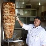 Shawarma Master of Madaba, Jordan