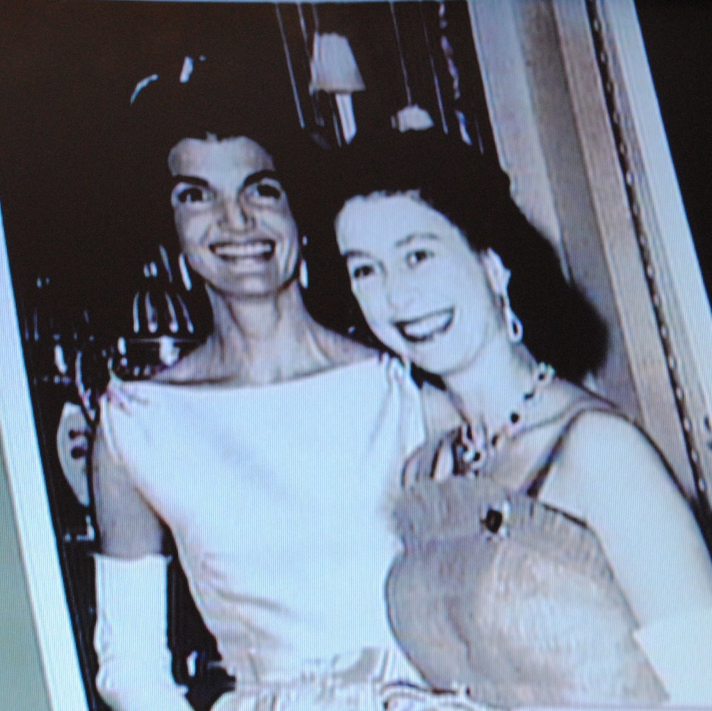 Jackie Kennedy and Queen Elizabeth