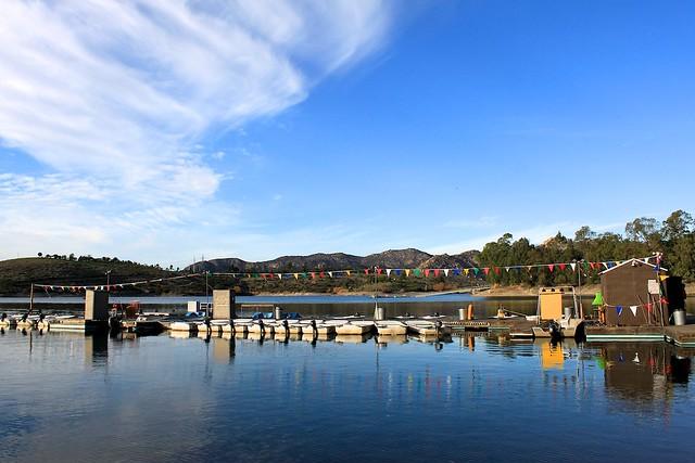 Lake jennings pier lakeside san diego ca by for Lake jennings fishing