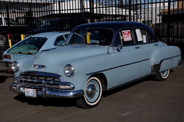 1952 chevrolet 4 door styline deluxe sedan a photo on for 1952 chevy 4 door