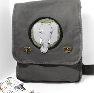 Elephant  Safari Bag - ArtsiBitsi.etsy.com