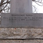 Inscription #1, Meriwether Lewis Monument