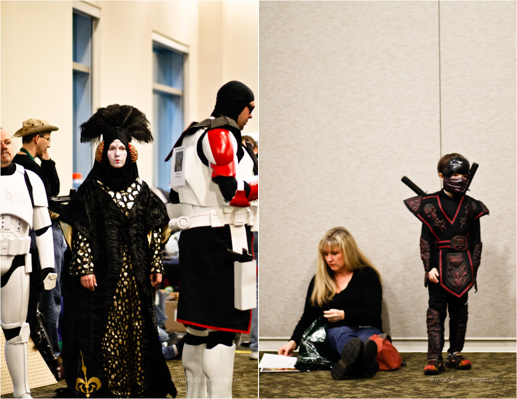 queen amidala & samurai kid