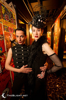 Jill Tracy and Armen Ra at the Edwardian Ball Los Angeles 2011