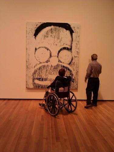 Cleveland Museum of Art, Joyce Pensato by libbyrosof