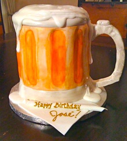 Beer Glass Cake Design : Beer Mug Cake Flickr - Photo Sharing!