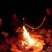 Fire and Shisha in the Desert at Night - Wadi Rum, Jordan
