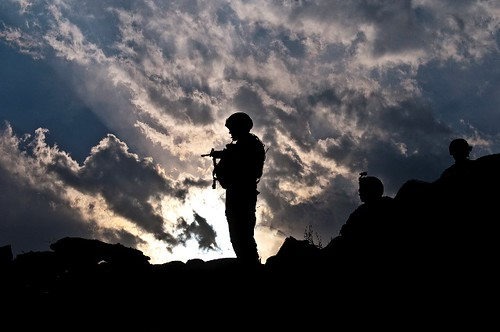 Afghanistan sunset