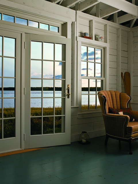 Frenchwood hinged patio door flickr photo sharing for Andersen french doors