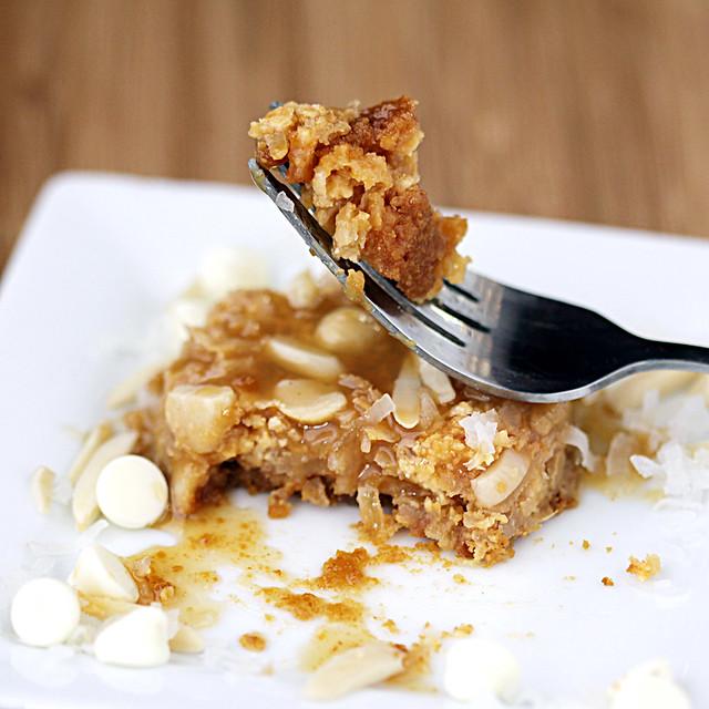 white chocolate macadamia nut seven layer bar | Flickr - Photo ...