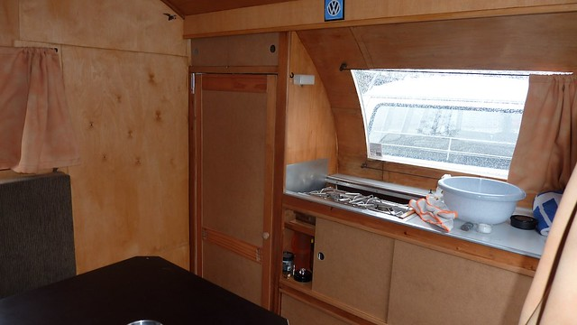 Dübener Ei oder Würdig 301-2 Oldtimer Caravan