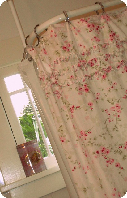 Simply Shabby Chic Shower Curtain Flickr Photo Sharing