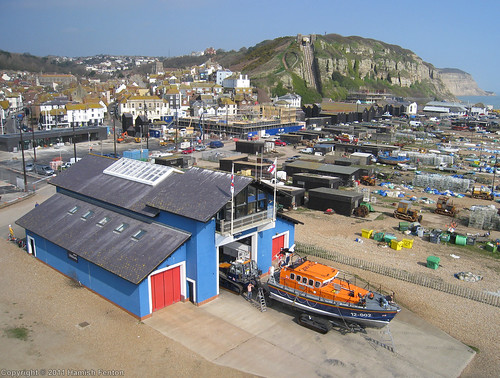 Hastings RNLI Lifeboat Station