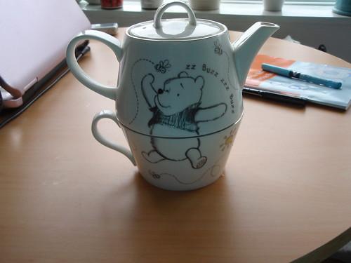 Pooh bear teapot