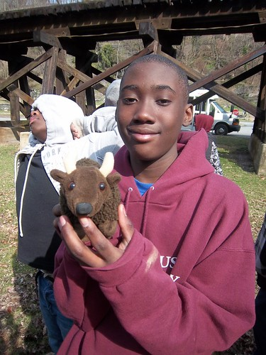 Our fun adventure with Buddy Bison at FLOC Outdoor Education Center!