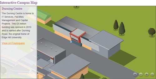 OMAC: Interactive Campus Map
