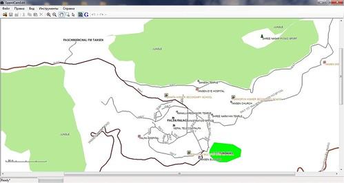 Palpa City Map