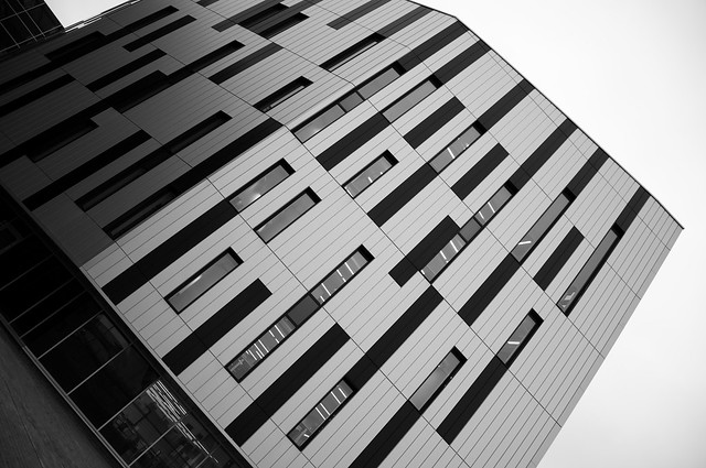 To the New - Sighthill Campus' Striking Library Building
