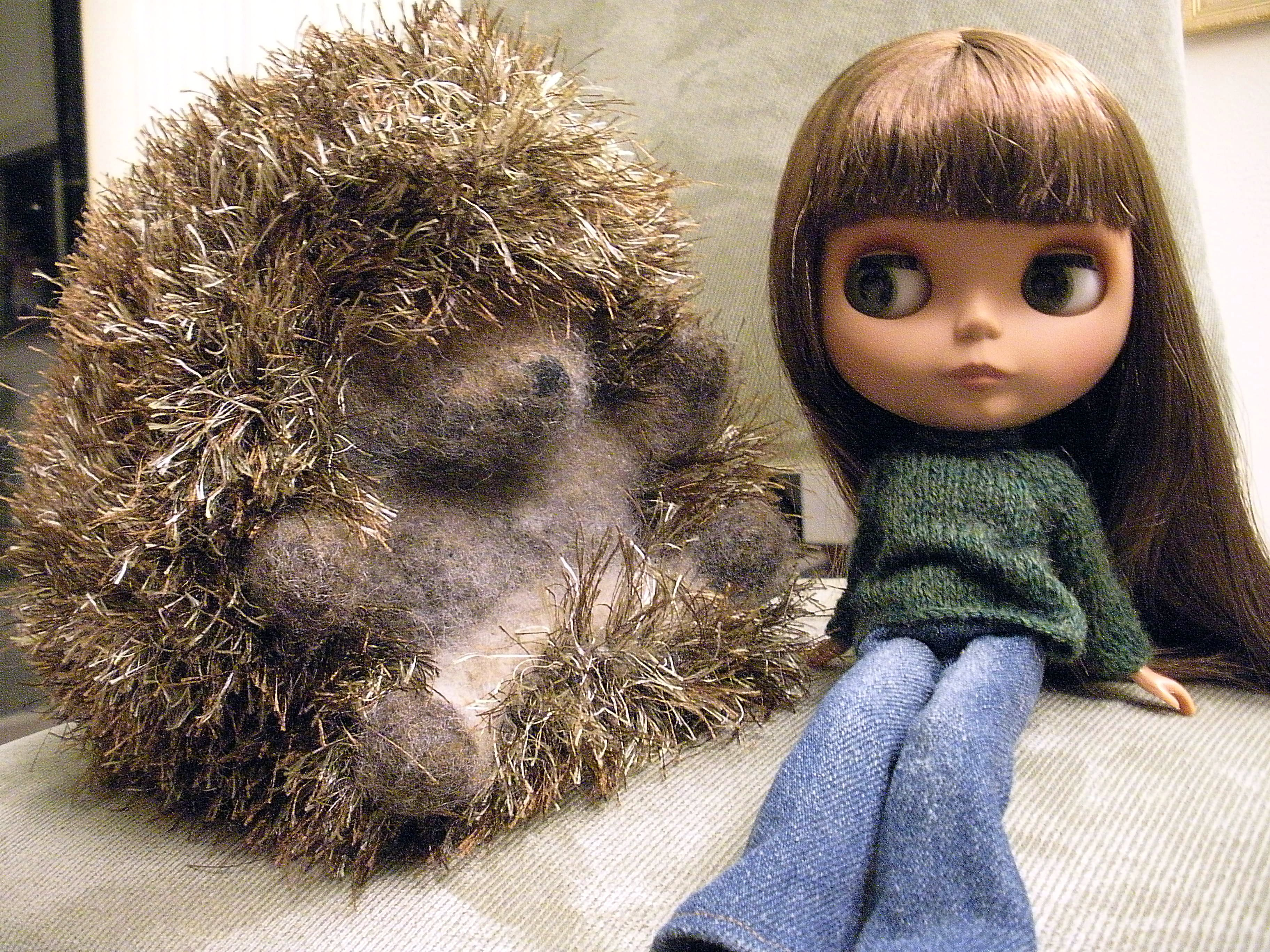 Huggable Hedgehog Knitting Pattern : And then theres new clothes Flickr - Photo Sharing!