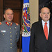 Secretary General Hosts Chile's Military Attaché