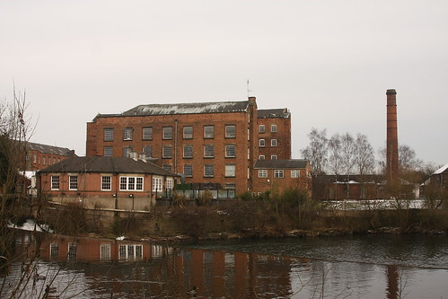 UK: Derwent Valley Mills, Darley Abbey Mills