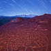 """Imagination"" - Star Trails over Petroglyphs"