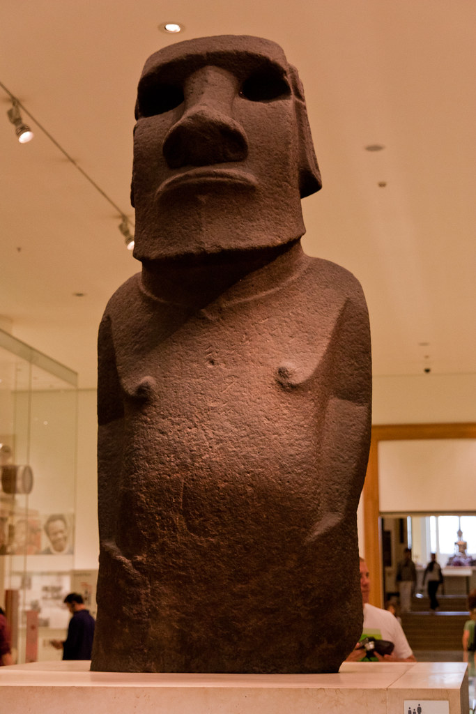 Easter Island Moai.  The British Museum allows photo shooting providing there is no financial gain.  Please respect their policy