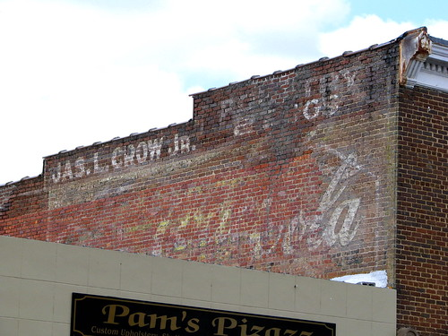 Faded Cocal-Cola mural - Athens, TN