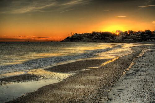 sunset beach sunrise massachusetts plymouth hdr manomet deaddogseye