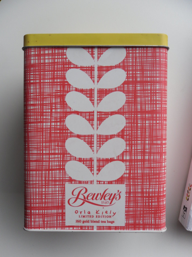 Orla Kiely and Bewleys tin