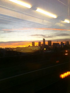 My View from the train approaching Moor Street station, Birmingham UK