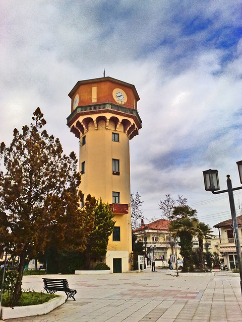 Chalastra Clock Tower!