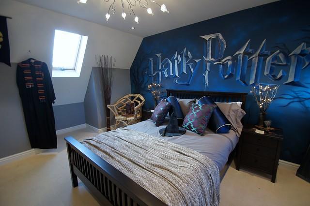 harry potter mural room children 39 s mural room based on har