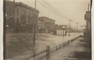 South Ludlow St, Dayton, OH - 1913 Flood