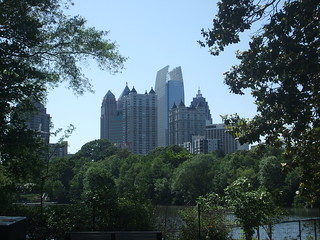 View from Piedmont Park