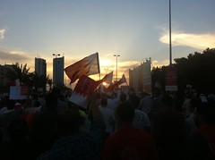 Bahrain pro-democracy demo in the capital Manama