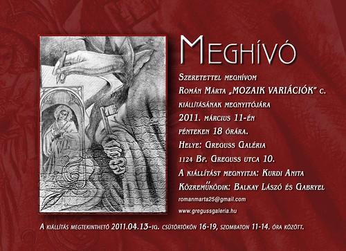 Román Márta: Mozaik-variációk