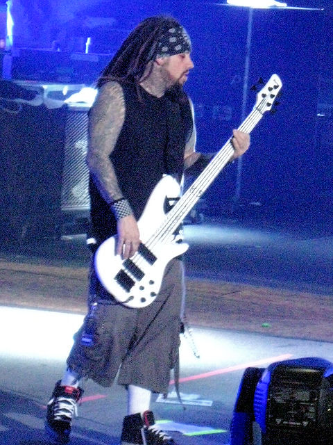 korn bassist fieldy march 2011 flickr photo sharing. Black Bedroom Furniture Sets. Home Design Ideas