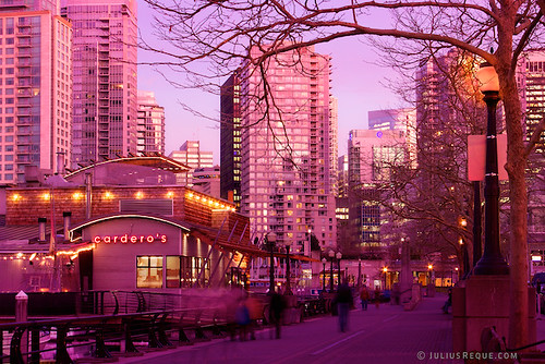 Tonight in Vancouver: The City Goes Pink