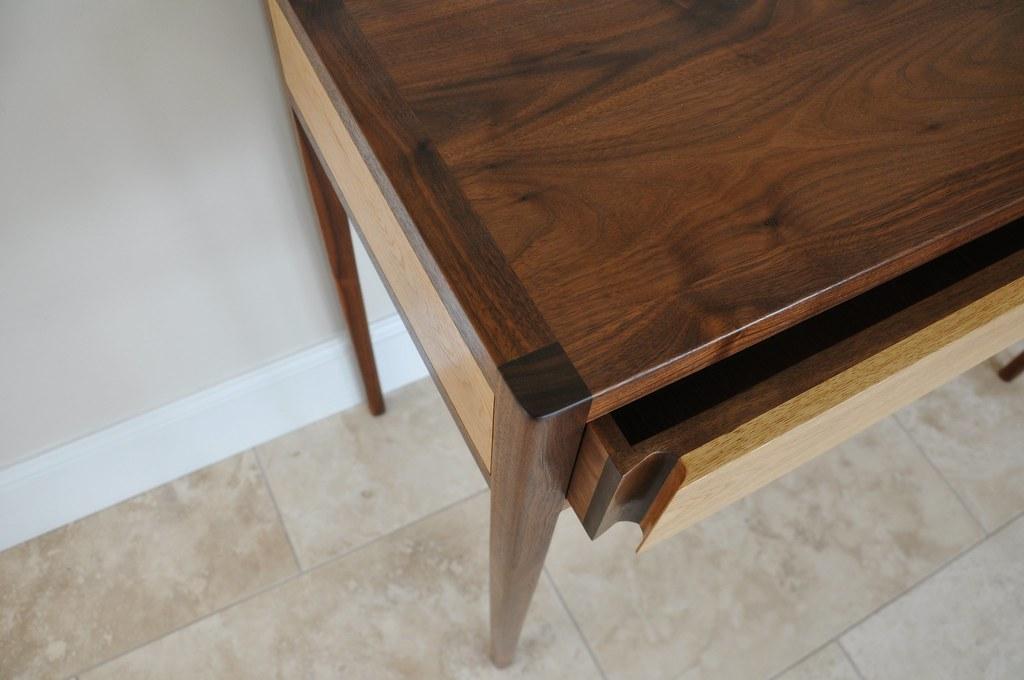 Method Furniture Costello Table Detail (walnut U0026 Oak)