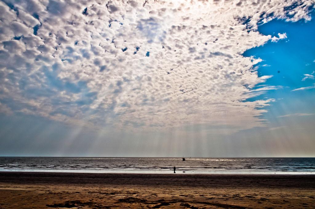 длинный пляж Cox`s Bazar