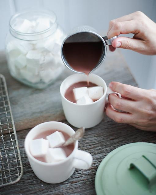 hot chocolate & marshmallows | Flickr - Photo Sharing!