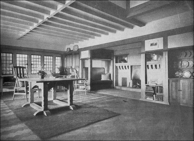 1914 German Flavored Craftsman Interior Flickr Photo
