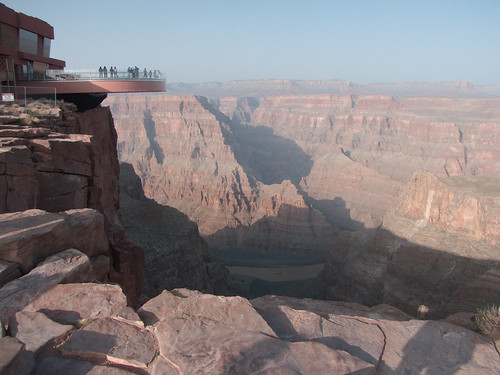 view of grand canyon from above