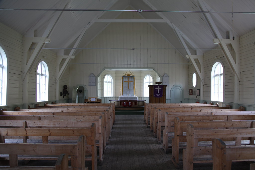 Whalers' Church at Grytviken, South Georgia