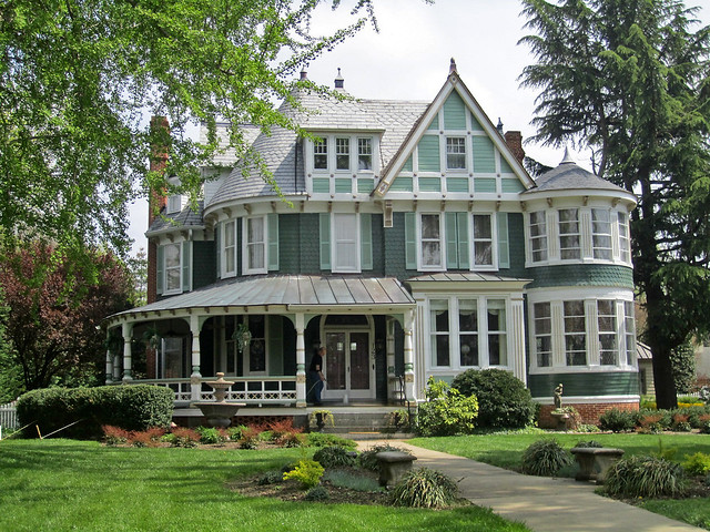 queen anne style house centreville maryland flickr