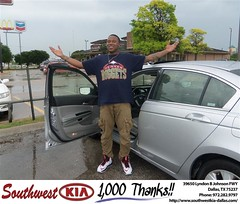 #HappyBirthday to Michael Dinkins from Adrian Tate at Southwest Kia Dallas!