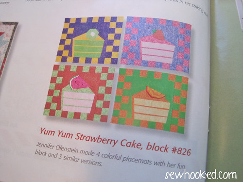 Strawberry Yum Yum, by Jennifer Ofenstein