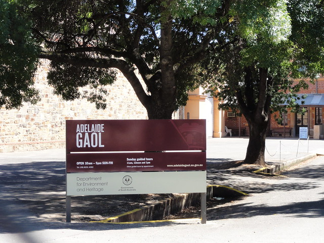 Header of Adelaide Gaol