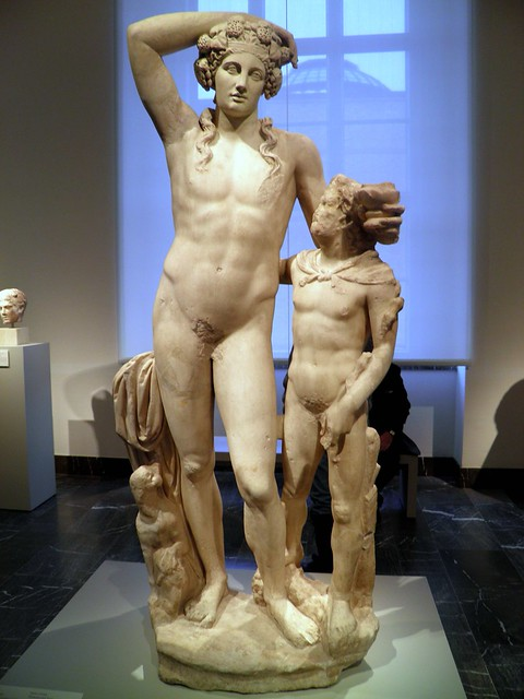 Dionysus and Satyr, Altes Museum Berlin
